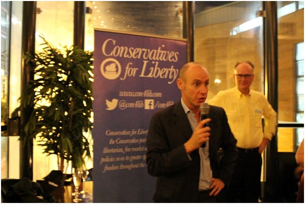 Conservatives for Liberty freedom fizz Daniel Hannan